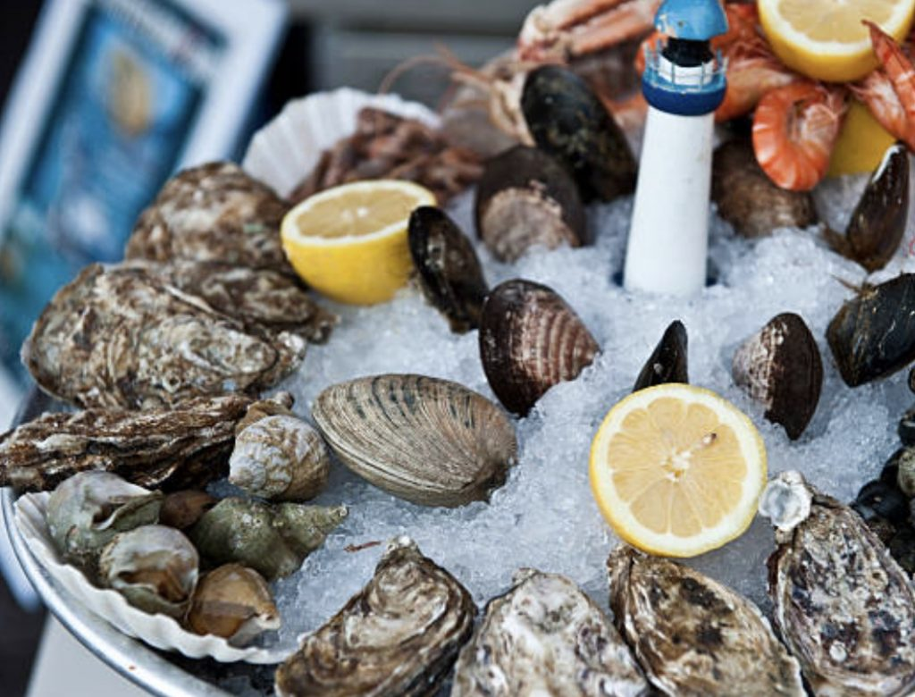 cocktail dînatoire planche gourmande de la mer
