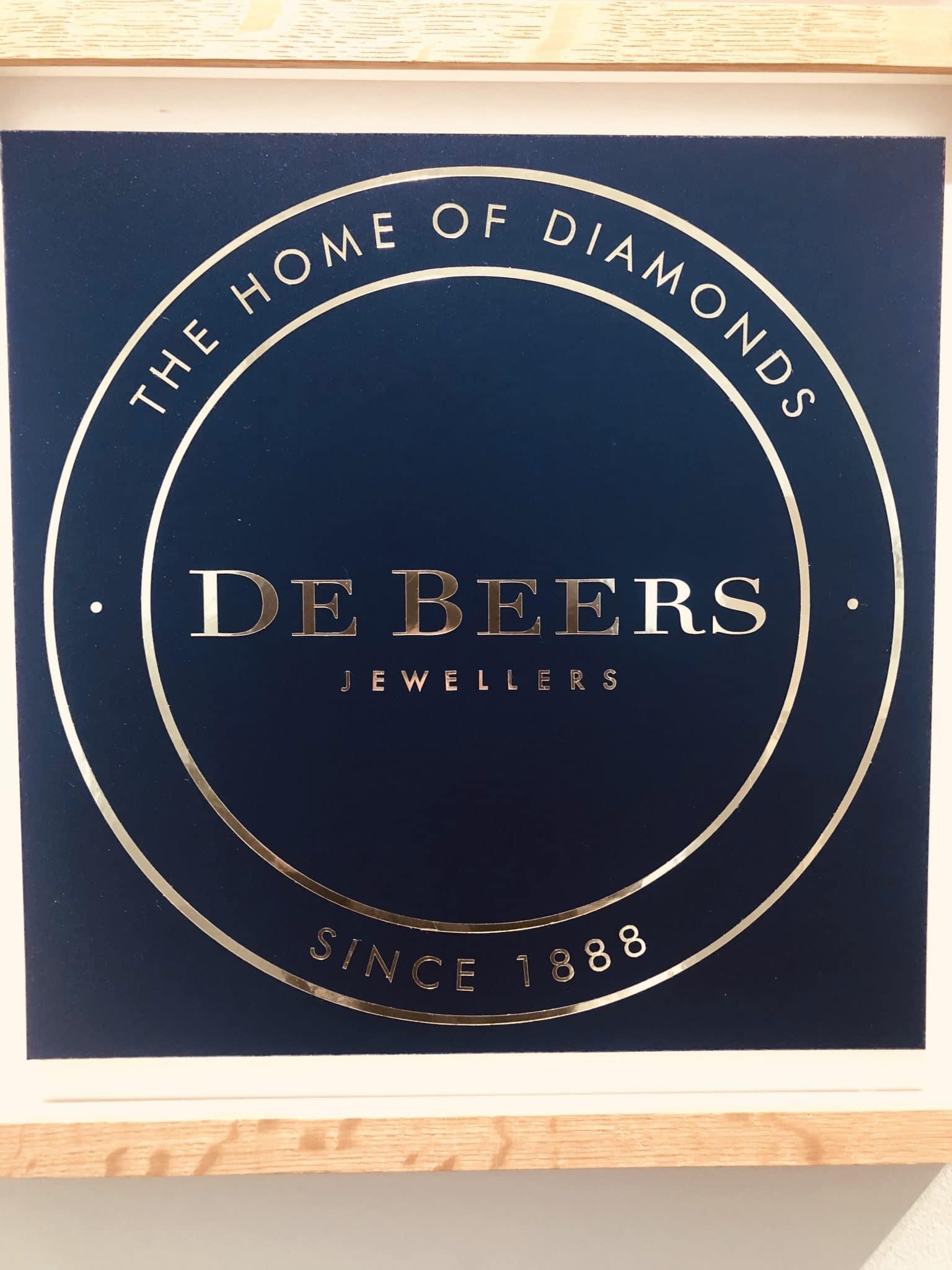Diamant DE BEERS bar instant events